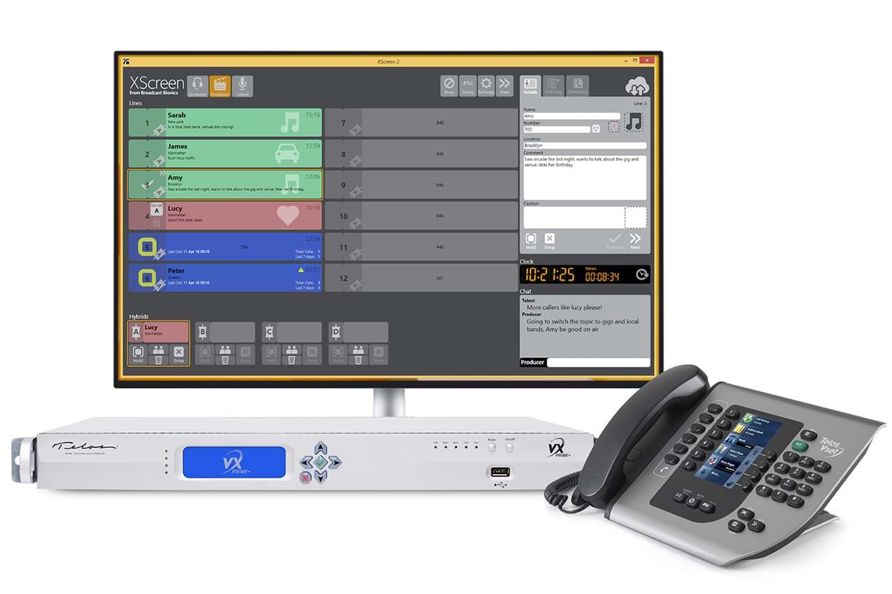 Telos VX Prime+ system